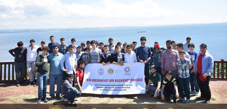 """""""Bir Medeniyet Bir Başkent"""" Projesi Kapsamında Çanakkale Gezisi Gerçekleştirildi"""