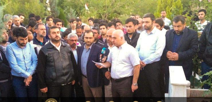 Diyarbakır Şehidi Şehid Ali Haydar Bengi Mezarı Başında Anıldı