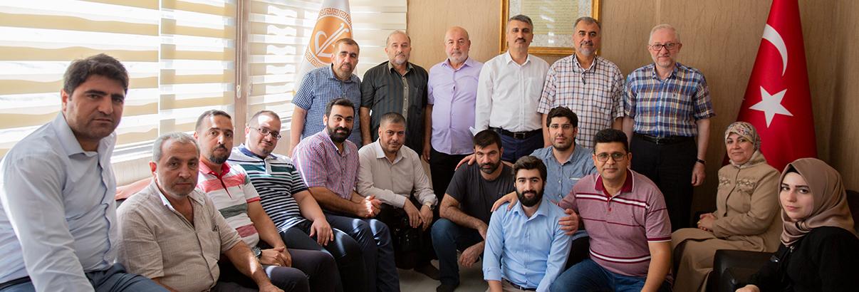 Irak Adalet ve İnsan Hareketinden Vakfımıza Ziyaret