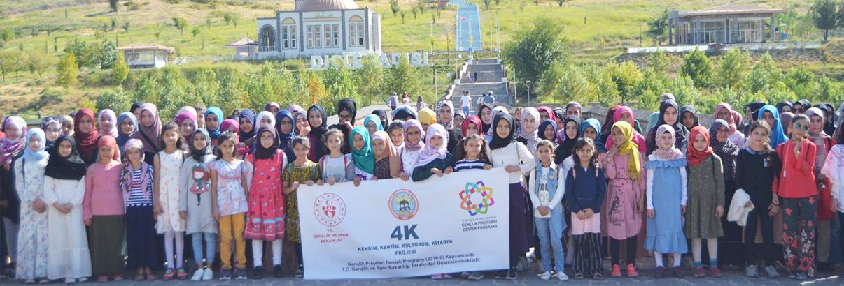 @4kkitapkahve Projesi Diyarbakır Gezisi