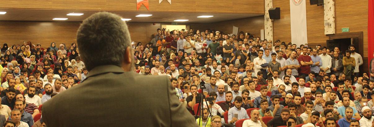 """Şanlıurfa'da """"Kudüs Selahaddinleri"""" Konferansı"""