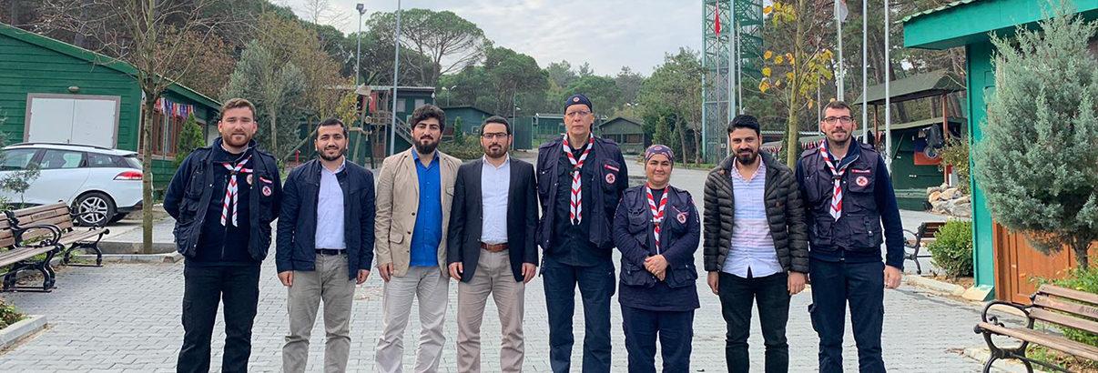 Türkiye İzcilik Federasyonu'na Ziyaret
